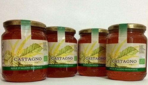 Bio Italienischer Honig - 4 Kastanien 500g