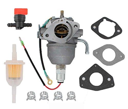 Carburetor Fuel Filter Shut Off Valve Clamp for Kohler CV18S CV20S CV22S CV725 Command Engine Carb 24 853 25-S 24 853 19-S 24 053 08-S 24 053 50-S,24 853 50-S Mower