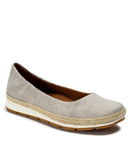 BareTraps PRIM Women's Flats & Oxfords Dove Grey Canvas Size 8 M (BT27161)