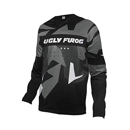 Uglyfrog 2019 New Bike Wear Herren Downhill/MTB Jersey Mountain Bike Shirt Fahrradtrikot Kurzarm Freeride BMX Top