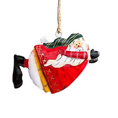 S-TROUBLE Ornamenti per Decorazioni Natalizie, Angeli danzanti Ornamenti per Alberi di Natale in Latta, Angeli Pendenti Decor per la casa, Festa, con Confezione Regalo