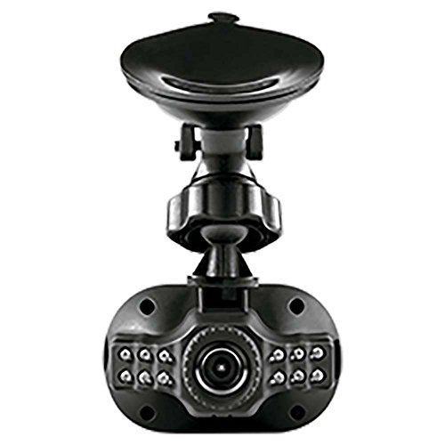 Multilaser Filmadora Hd Automotiva Com Visão Noturna E Zoom Digital Preta - Au013