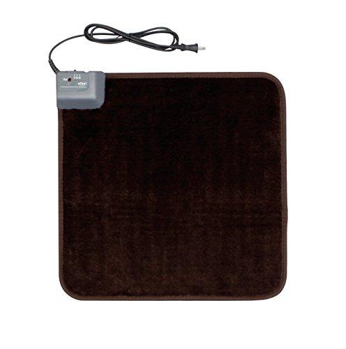 『アイリスオーヤマ ホットカーペット ホットマット 45×45cm ブラウン HC-45S-T』の1枚目の画像