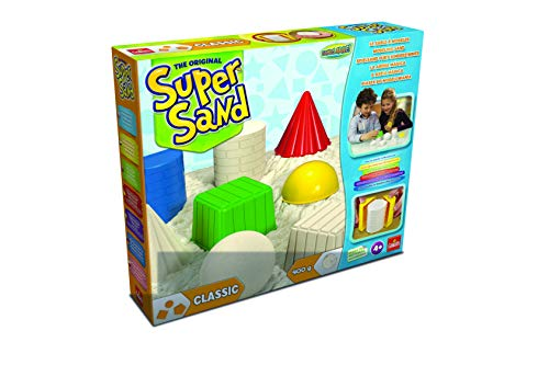 Super Sand Classic Arena Mágica, Color Natural, 32.3 x 26.9 x 6.3 (Goliath 83216)