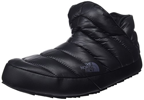 The North Face Thermoball Traction, Botas de Nieve para Hombre, Negro (Shiny TNF Black/Dark Shadow Grey Yxa), 42 EU