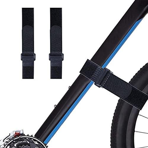 JJSCHMRC 2 unids/set correa para portabicicletas, correas estabilizadoras de rueda de bicicleta,...