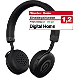 NINETEC Xono Wireless Bluetooth Stereo Bügel-Kopfhörer Headset HiFi Headphone Schwarz