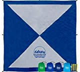 Large Beach Blanket Sandproof - Compact Sand Free Beach Blanket, Beach...