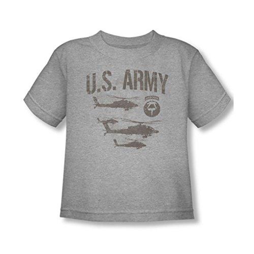 Army - - T-Shirt pour Jeunes Enfants Airborne, 2T, Heather