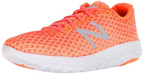 New Balance Women's Beacon V1 Fresh Foam Running Shoe, Orange, 6.5 D US