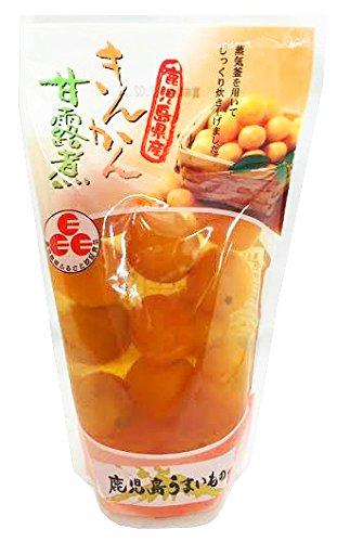 きんかん甘露煮 スタンドパック 14粒×12袋 丸八 鹿児島県産のキンカン100%使用 昔ながらの製法で炊き上げた素材本来の味と香り 冷やしてデザートに お菓子作りにも