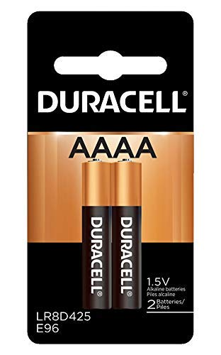 Duracell MX2500B2PK Ultra Racell Photo Alkaline-Manganese Dioxide Battery Pack, AAAA Size, 1.5V (Case of 6 Cards, 2 Unit per Card)