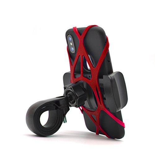 Fantastic Deal! Widras Universal Premium Bike and Motorcycle Handlebars 1st Gen Phone Mount Hard Pla...