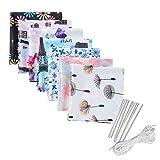 Kviklo Gesichtsschutzmaterial DIY Selbstgemachtes Material Set Künstlerischer Stoff Nicht gewebt...