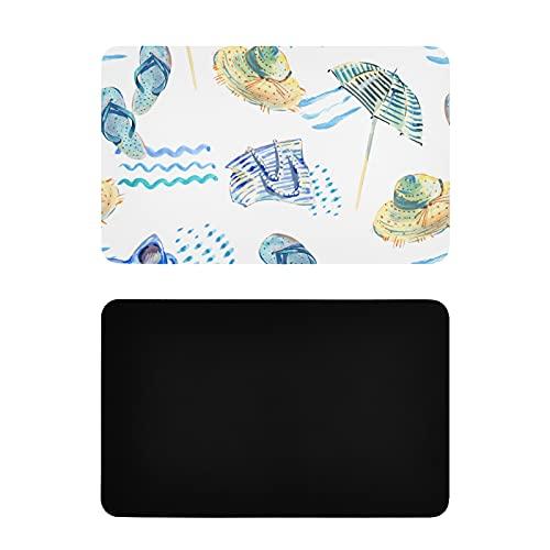 Imanes de Nevera Cuadrados para imágenes de Dibujos Animados Coloridos, Lindos imanes de Nevera para sillas de Playa para Mujeres, imanes Personalizados de PVC para Nevera para Adultos, Accesorios di