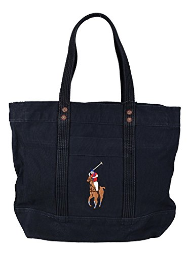 Ralph Lauren - Polo bolso shopping - navy