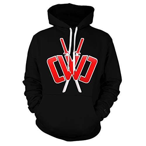 Kids Chad Wild Clay CMC Gamer Flame 3D Print Hoodie Sweatshirts Video Game Wild Clay-AB-L