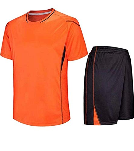 A&H Fashion Kids Jongens Voetbal T-shirt met korte mouwen Korte Set Kit Jersey Nieuw Verenigd Koninkrijk