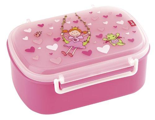 SIGIKID Fille, Boîte à Goûter avec Motifs Colorés, Pinky Queeny, Rose, 24472