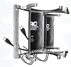 ARC AHV-20-AD AC & DC volts HEATED Nitrous bottle billet anodized Dual bracket Vertical mount.