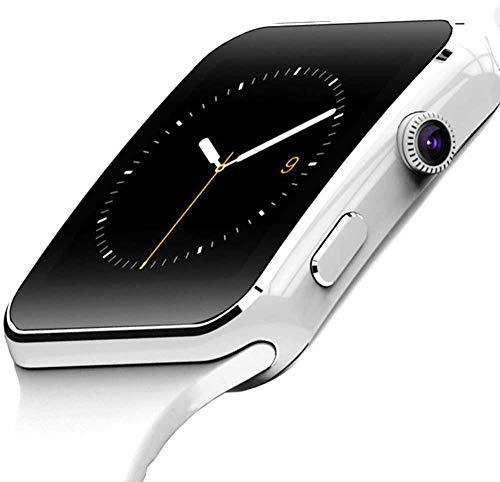 Pulsera de actividad inteligente con pantalla táctil de 1,5 pulgadas, impermeable, monitor de salud, podómetro con monitor de sueño, con cámara