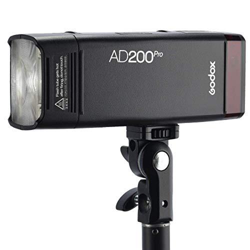 GODOX AD200Proポケットフラッシュ内蔵2.4G リサイクル時間0.01~1.8秒