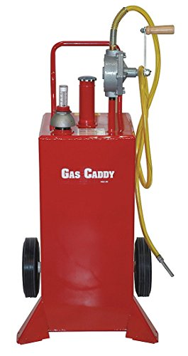 John Dow - HGC-30UL - Fuel Caddy, Steel Material, 30 gal. Capacity, Used for Gasoline, Diesel, Kerosene, E85, Bio-Diesel