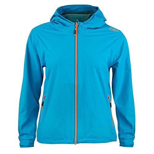 CMP Jungen Windproof and Waterproof rain Jacket WP 10.000 Regenjacke, Light Blue, 152