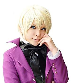 Black Butler Alois Trancy Men s Short Straight Anime Cosplay Costume Full Wig