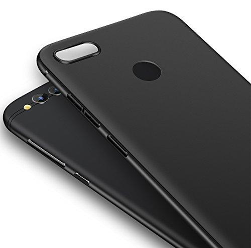 Olliwon Huawei Honor 7X Hülle, Dünn Leichte Schutzhülle Schwarz Silikon TPU Bumper Case Cover für Huawei Honor 7X -Schwarz - 2