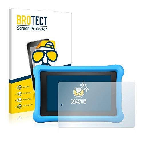BROTECT 2X Entspiegelungs-Schutzfolie kompatibel mit Amazon Fire Kids Edition 2015 Bildschirmschutz-Folie Matt, Anti-Reflex, Anti-Fingerprint