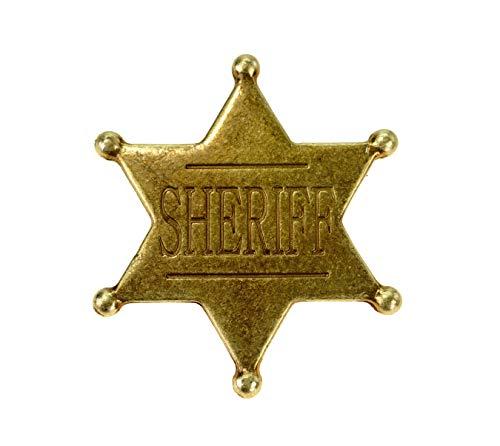 Denix US Sheriffstern Badge Sheriff Stern Cowboy Western
