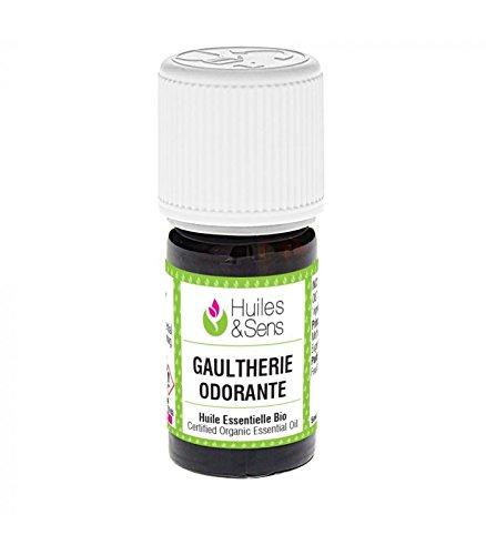Huiles & Sens - huile essentielle gaulthérie odorante (bio) - 5 ml