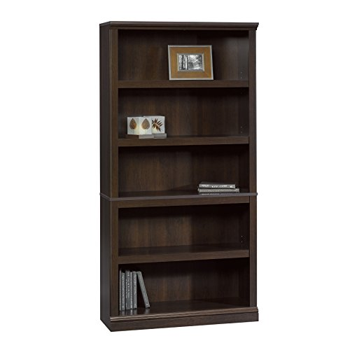 Sauder Bookcase, Cinnamon Cherry Finish