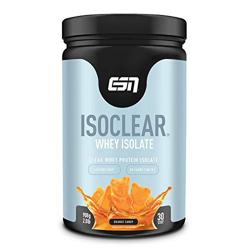 ESN ISOCLEAR Whey Isolate, 908 g Dose (Orange Candy)