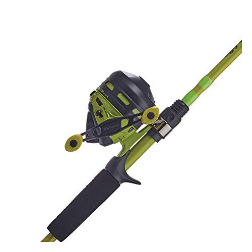Ugly Stik Hi-Lite Spincast Reel and Fishing Rod Combo, Green, 10 Reel Size - 6' - Medium - 2pc (USHLGCA602M/SC10CBO)