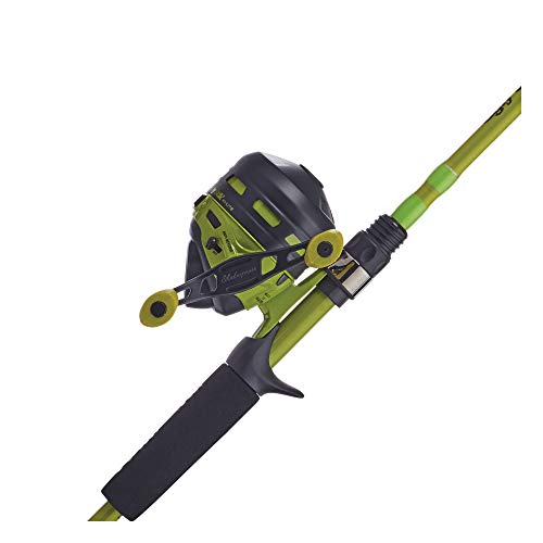 Ugly Stik Hi-Lite Spincast Reel and Fishing Rod Combo, Green, 10 Reel Size - 6