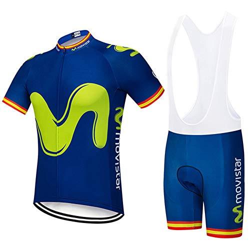 penggao Maillots Ciclismo Hombre,Ropa de Ciclismo,Conjunto De Jersey De Ciclismo para Hombre Jersey De Bicicleta De Carretera Kits Bib con 3D Rellenado