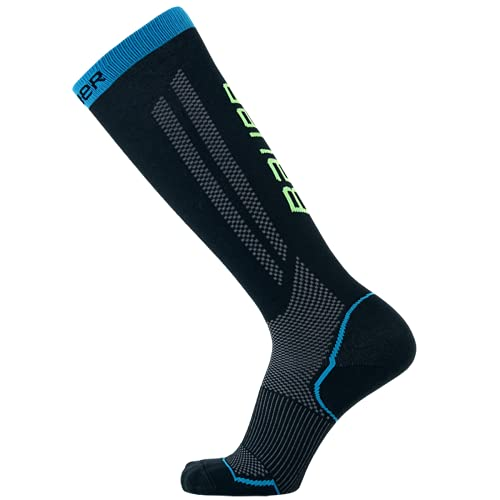 Bauer Performance Hockey Skate Sock ('21), Tall (Large)