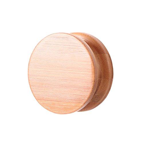 GUDEE壁掛けフックウォールフック木製バンブー耐荷重5㎏収納アンティークGudeeLifeRANBamboohook(Naturalナチュラル)