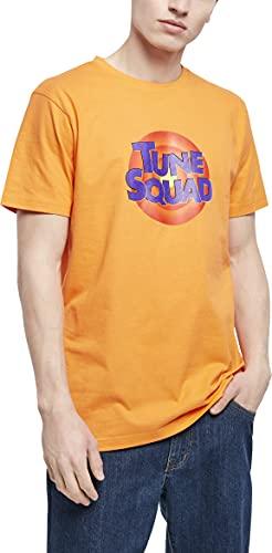 Mister Tee Space Jam Tune Squad Logo tee Camiseta, Paradise Orange, XS para Hombre