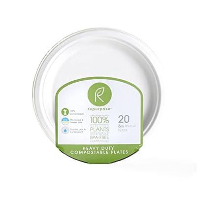 Repurpose 100% Compostable Plant-Based Plates