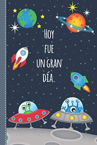 Diario de consciencia para niños: Diario de Mindfulness para un pensamiento más positivo y amor propio - para 4 meses - Libro de regalo para niños - motivo espacial