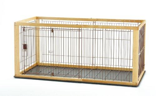 リッチェル 木製スライドペットサークル ワイド