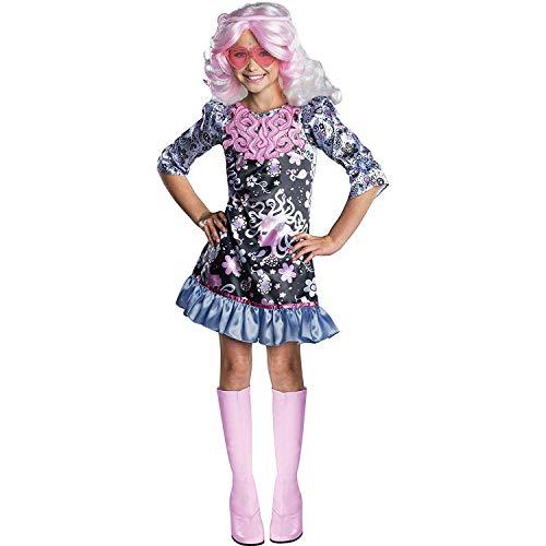Savahe Monster High Viperine Gorgon Kostüm Kinder / Karneval Fasching Hippie Party (122/128 Gr. M)