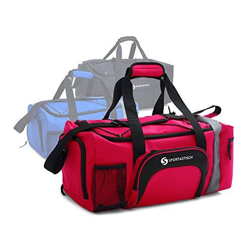 Sportastisch Sporttasche Reisetasche Weekender Sporty Bag mit Schuhfach für Herren Damen, Große & wasserdichte Fitnesstasche Trainingstasche für Gym Sport Handgepäck, bis zu 3 Jahren Garantie²
