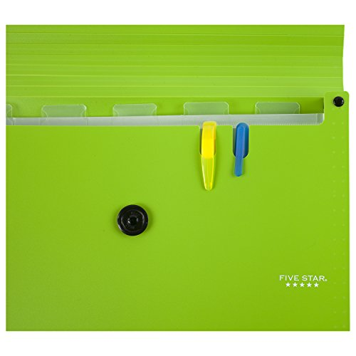 Five Star 6-Pocket Expanding File Organizer, Plastic Expandable Letter Size File Folders with Pockets, Home Office Supplies, for Receipts, Bills, Documents, Color Selected For You, 1 Count (35552) Photo #21