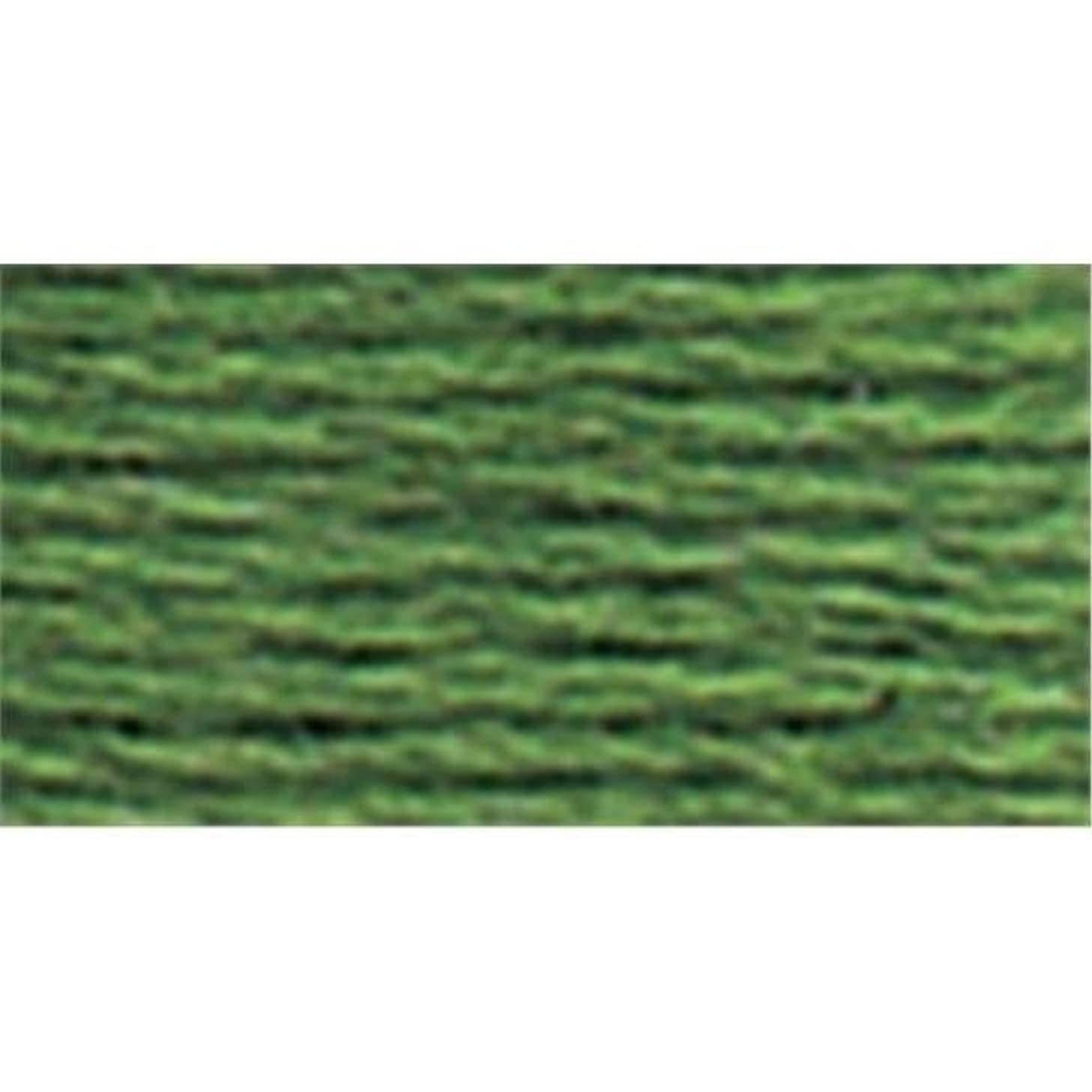 DMC 115 3-987 Pearl Cotton Thread, Dark Forest Green, Size 3