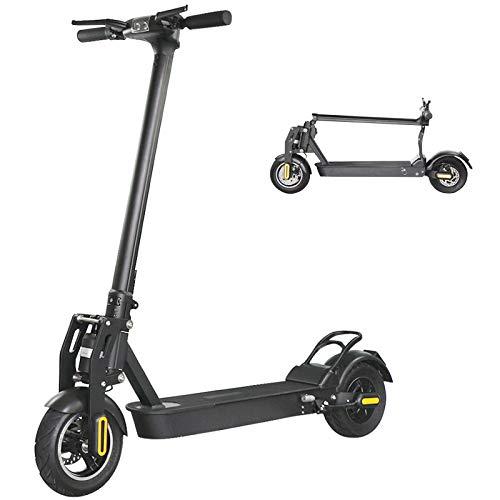 CuiCui Scooter Eléctrico Neumáticos de hasta 40 Millas y 30 mph Scooter Eléctrico Plegable de liberación Rápida para Adultos Sistema de Frenado Doble Scooter Todoterreno Batería de Largo Alcance