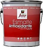 Jafep 37700133 Esmalte antioxidante, Negro, 4 l